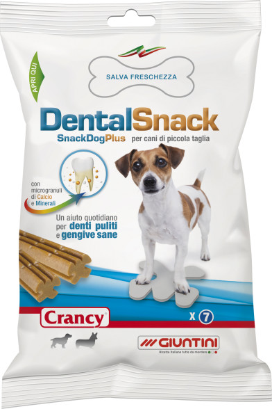 Giuntinipet crancy dental snack per cani di piccola taglia for Marsupio per cani di piccola taglia